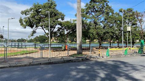 Prefeitura de BH cerca pontos da orla da Lagoa da Pampulha