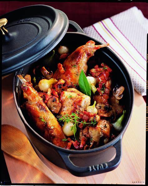 cuisiner des cuisses de lapin recette la gibelotte de lapin