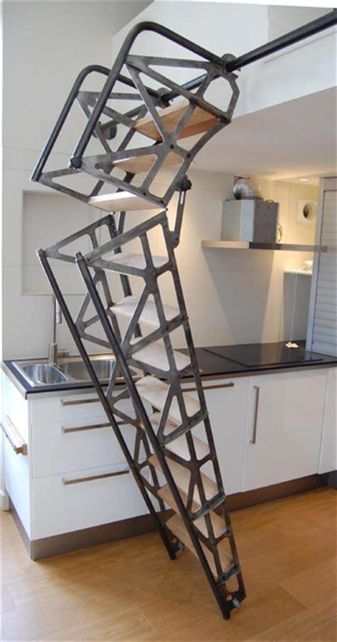 cuisines et bains magazine escalier escamotable industriel other metro par