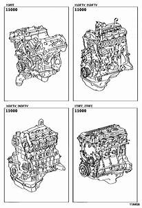 Partial Engine Assembly For 2015  4runner Truck Kun122