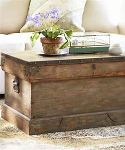rustic trunk coffee table hope chest With outdoor trunk coffee table