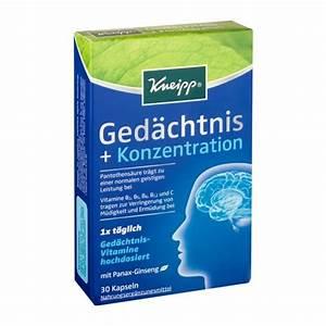 Konzentration Berechnen : kneipp ged chtnis konzentration kapseln bei nu3 kaufen ~ Themetempest.com Abrechnung