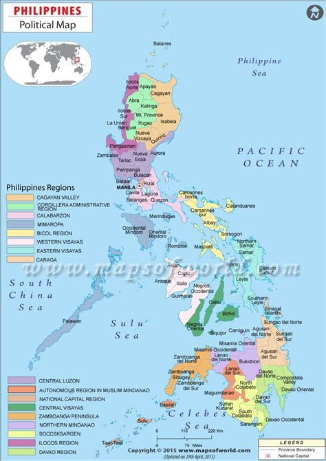 political map  philippines   philippine map map