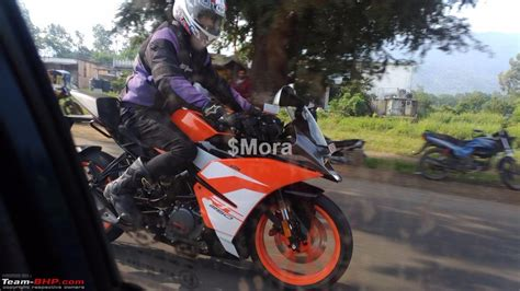 Modification Ktm Rc 250 by Ktm Rc 250 Testing In Pune Team Bhp