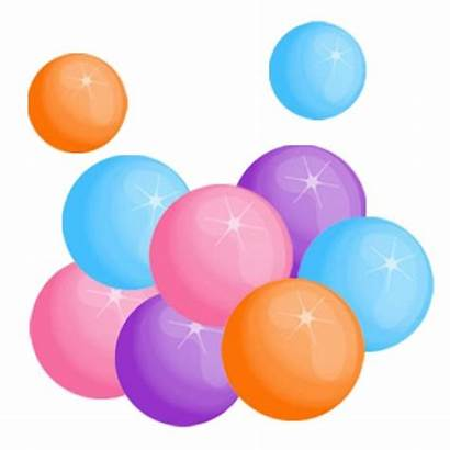 Gum Transparent Chewing Bubble Clipart Clip Ball