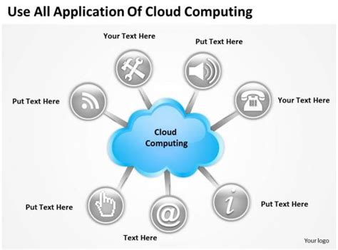 powerpoint diagrams templates  cloud computing