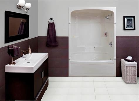 3 Tub Shower Combo by Mirolin Empire 60 Inch 3 Acrylic Tub And Shower