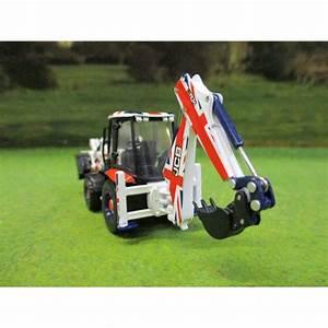 Oxford 1 76 Jcb Union Jack 3cx Eco Backhoe Loader