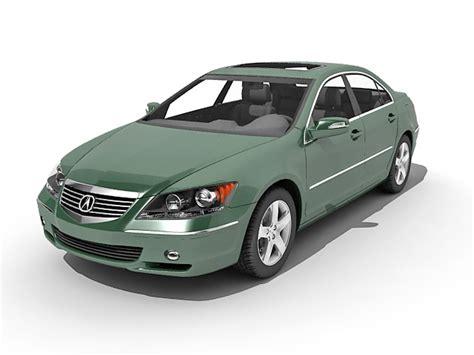 Acura Free Link by Acura Rl Luxury Sedan Car 3d Model 3ds Max Files Free
