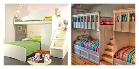 chambre enfants mixte décoration chambre mixte