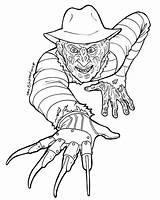 Jason Coloring Voorhees Pages Printable Horror Getcolorings sketch template