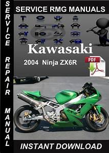 2004 Kawasaki Ninja Zx6r Service Repair Manual Download
