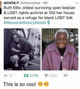 Amelia Hoe 16h Ruth Ellis Oldest Surviving Open Lesbian ...