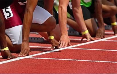 Line Starting Track Partenza Blocchi Start Runner