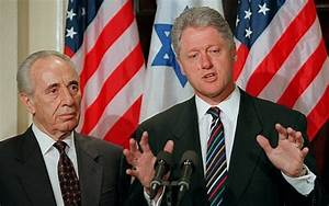Bill Clinton admits he tried to help Peres beat Netanyahu ...