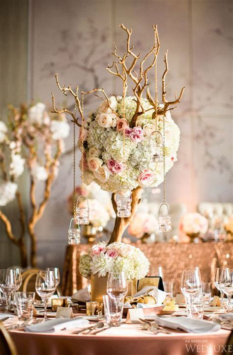 hanging floral centerpieces tall wedding centerpiece ideas weddings romantique