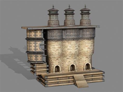 vintage incinerator  model ds max files