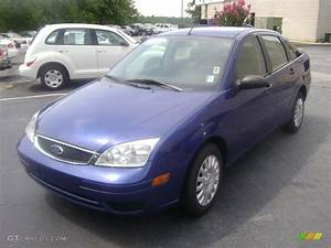 Ford Focus 2006 : 2006 sonic blue metallic ford focus zx4 se sedan 38077304 ~ Melissatoandfro.com Idées de Décoration