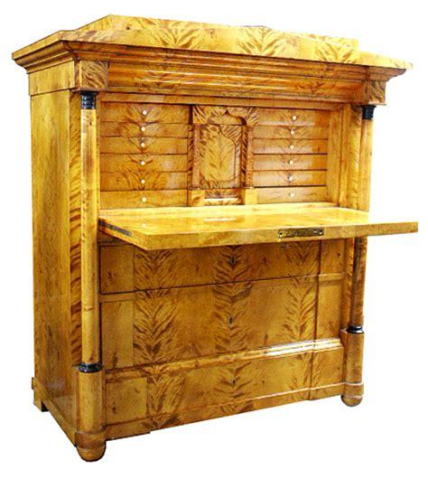 rare antique biedermeier style desk  sale antiques