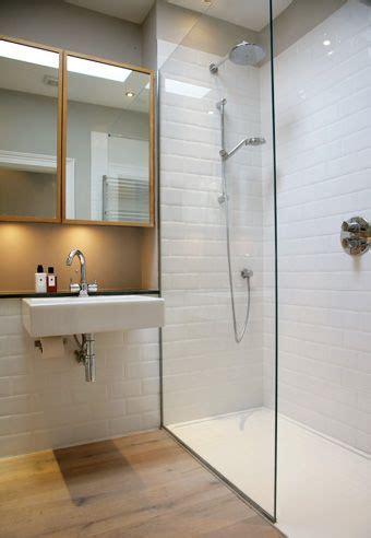Bathroom Wood Tile Shower Room