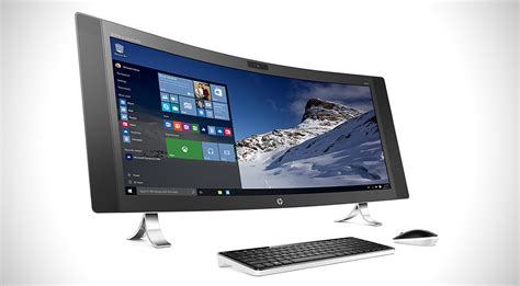 hp envy curved all in one pc hiconsumption