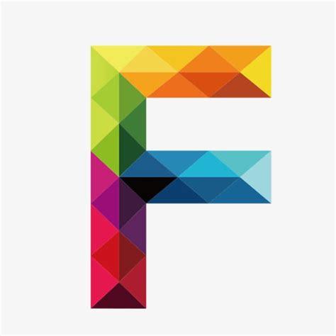 colorful letters  letter  polygon art lettering