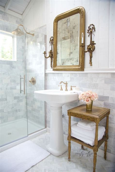Small Country Bathroom Ideas by Cottage Bathroom Renovation Reveal Home Ideas