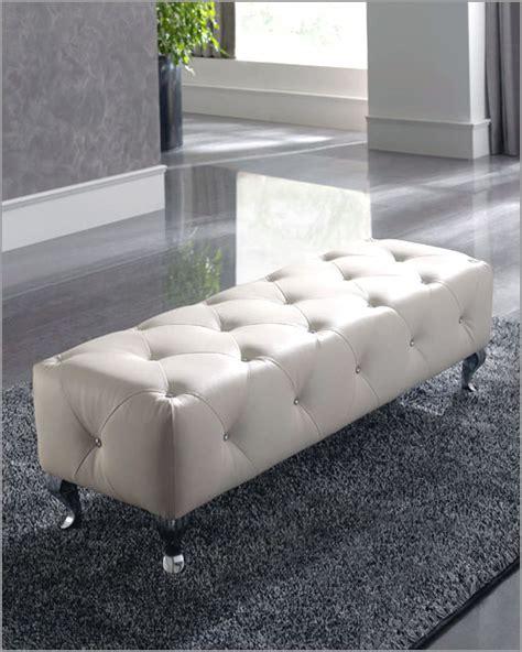 white bedroom bench sevilla in modern style made in spain