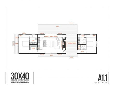 longhouse dogtrot  design workshop  st project house plans small house floor