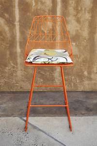 Orange Counter Stool Urban Kitchen Shop