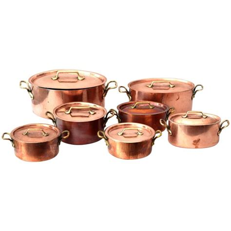 e dehillerin copper cooking pots at 1stdibs