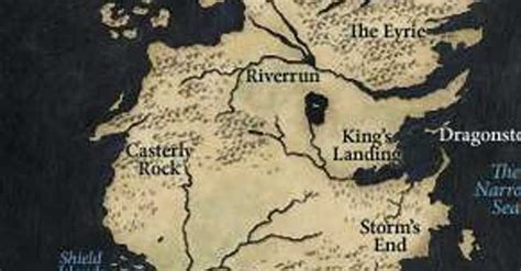 A History of the Top 15 Locations in Westeros