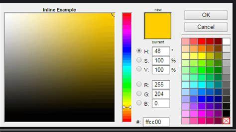 jquery color picker pluginsresources  web