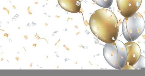 gold balloons clipart  images  clkercom vector