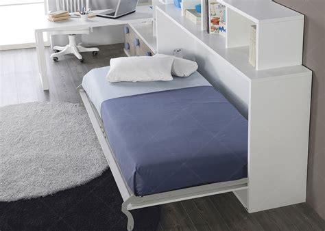 lit escamotable avec bureau escalier avec marche tiroirs pour lit mezzanine ou lit