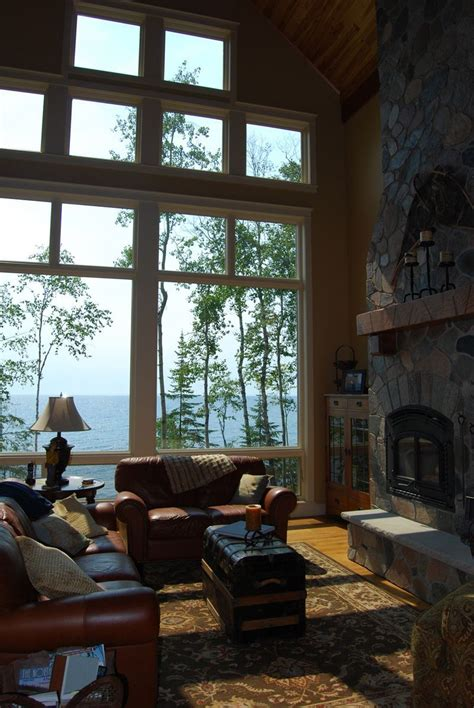 amazing windows amazing view plan   house plans   rustic house plans