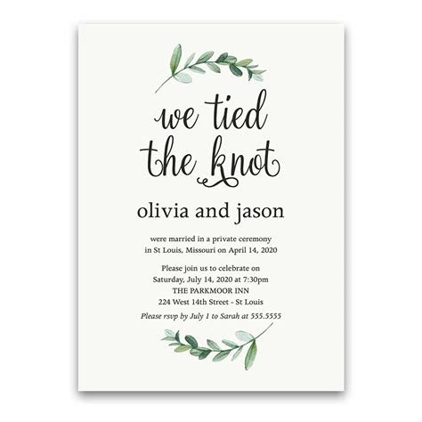 wedding reception only invites Archives Noted Occasions