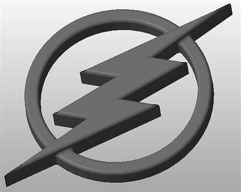 flash logo   model  printable stl cgtradercom