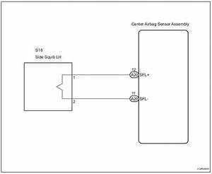 Toyota Sienna Service Manual  Short In Side Squib Lh Circuit