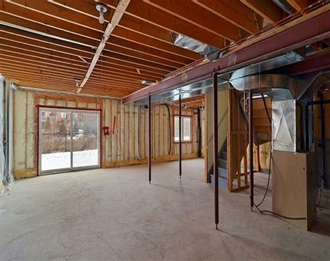 basement walkout ranch style house  walkout basement bungalow house interior designs