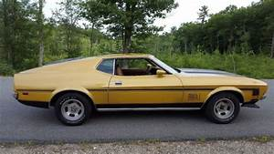 72 Ford Mustang Sportsroof Fastback with MACh 1 options and stripes for sale: photos, technical ...