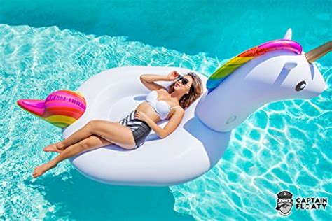 Giant Inflatable Unicorn Pool Float Swim Toy Floatie By