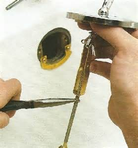 bathtub drain clogged plunger ehowdiy how to fix a plunger type drain