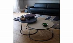 Table Basse Ronde Gigogne : 25 best ideas about table basse ronde on pinterest tables basses rondes table basse ronde ~ Teatrodelosmanantiales.com Idées de Décoration