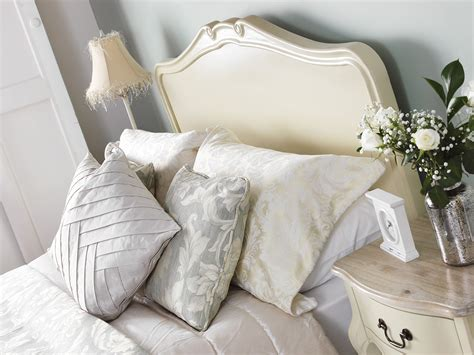 shabby chic king size bed frame juliette shabby chic chagne 5ft king size bed cream french bed frame quality ebay
