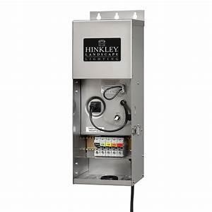 hinkley lighting 12 volt 300 watt stainless steel multi With 12v ac low voltage outdoor lighting transformer