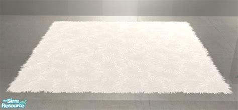 white fluffy rug shinokcr s livingroom recolors fluffy rug large white