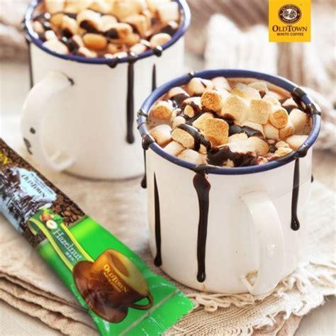 Chocolate hazelnut ice blended drink coffee bean menu: OLDTOWN White Coffee 3-in-1 Hazelnut Instant Premix (38g x ...