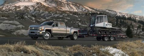 chevrolet silverado towing  hauling capacity