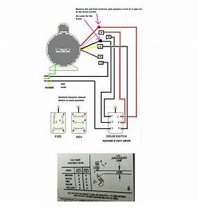 Reversing Drum Switch Wiring Diagram  Reversing  Free